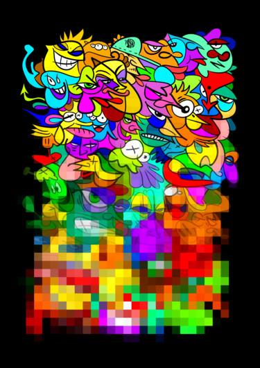 Doodle pixl