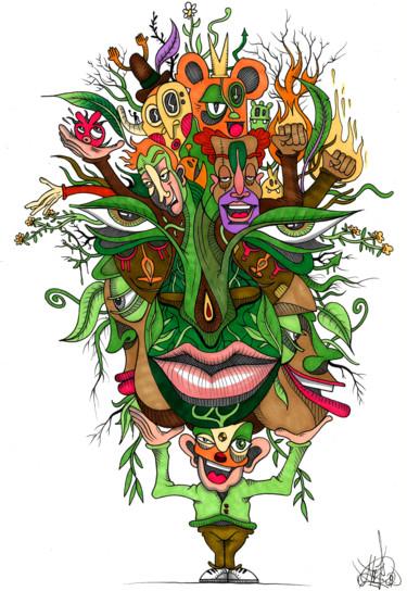 Organic toon face's
