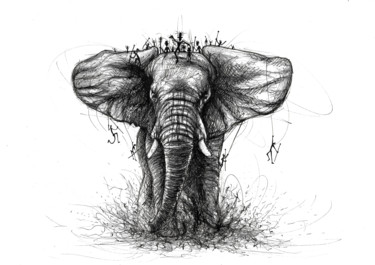 Big elephant tribe