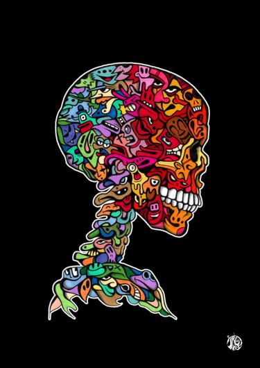 Skull toons black