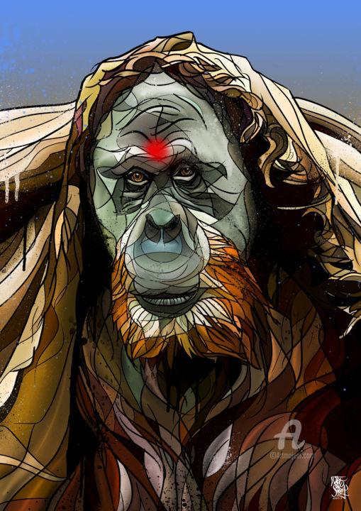 Art de Noé - Orangutan